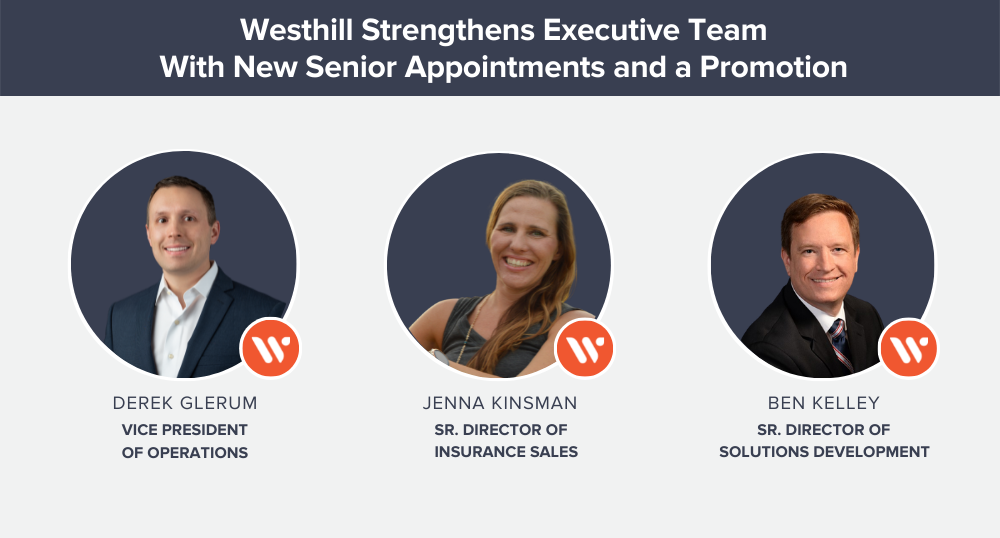Westhill Strengthens Executive Team With New Senior Appointments and a Promotion